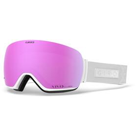 Giro Lusi Goggles Damen white velvet/vivid pink/vivid infrared